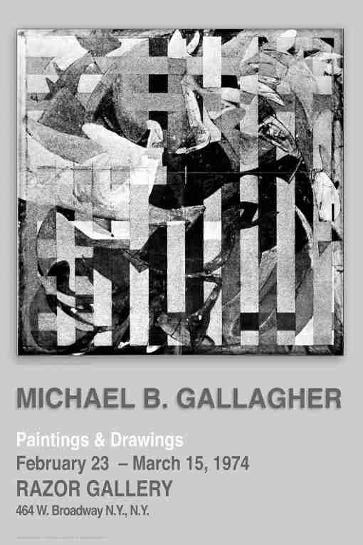 1974 Razor Gallery Poster 4