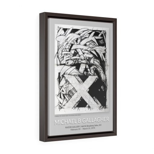 1974 Razor Gallery Poster - Framed 3