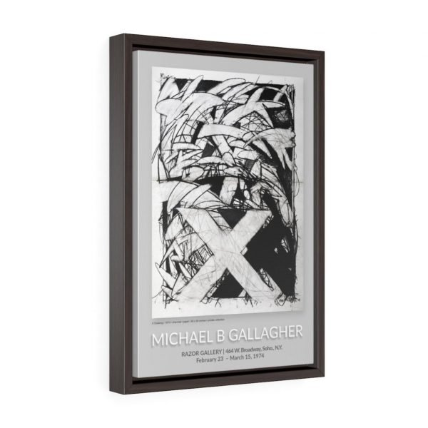 1974 Razor Gallery Poster - Framed 1