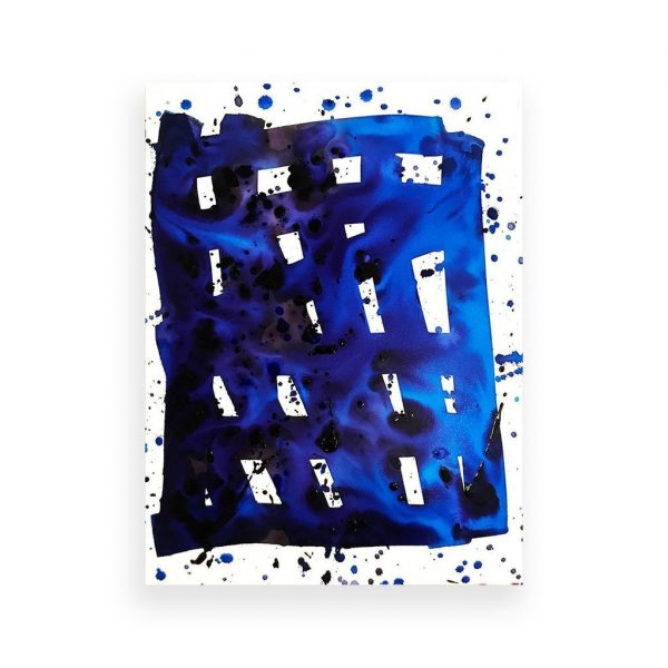 Blue Grid 1